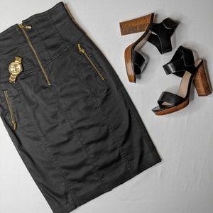 Marciano High Waist Pencil Skirt Black